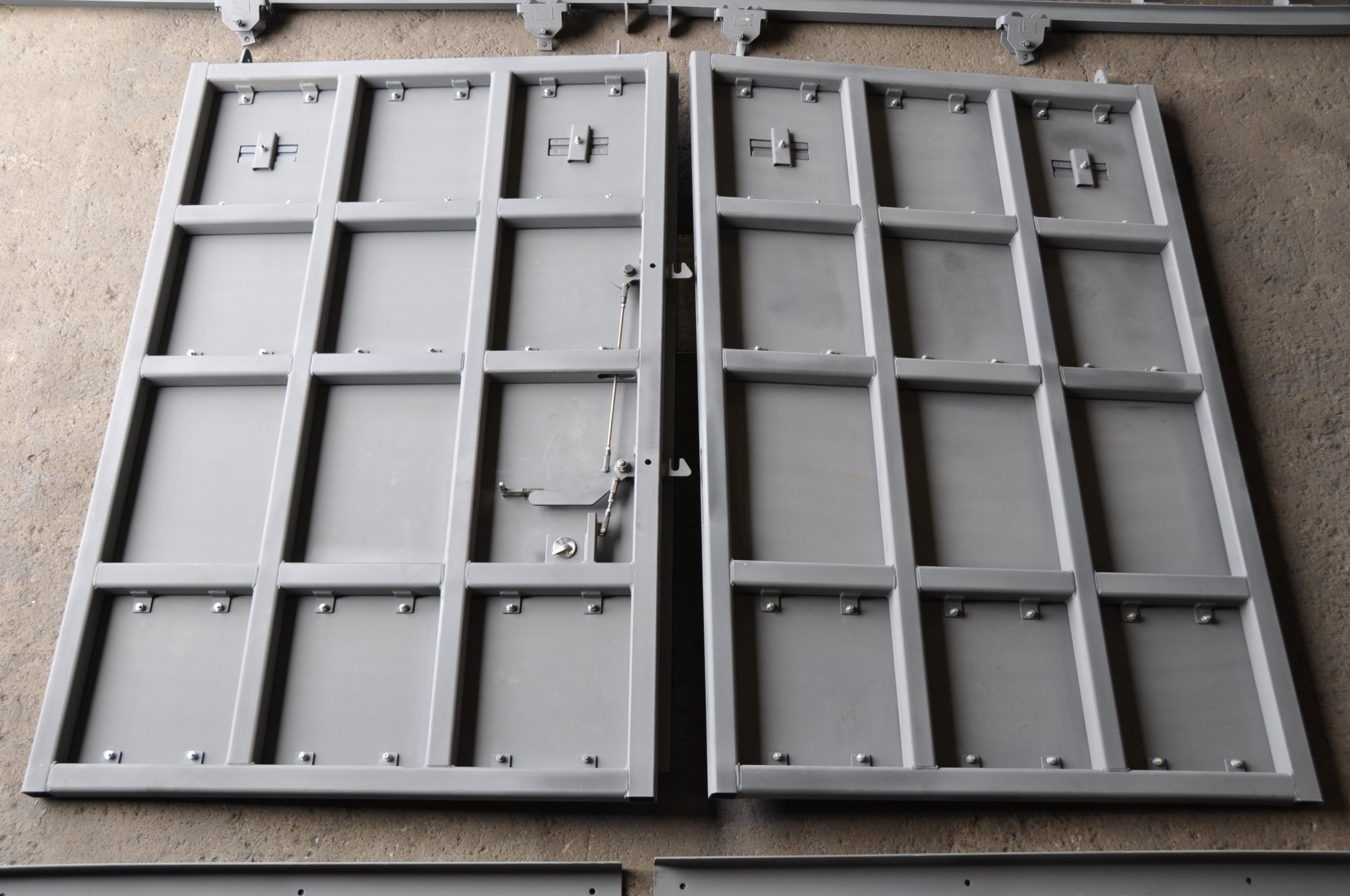 Ballistic Doors For Hardened Shelters