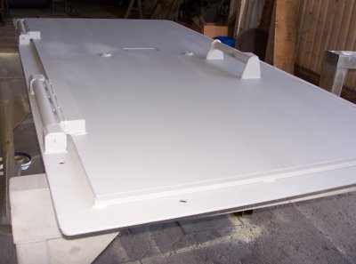 Ballistic door steel plate