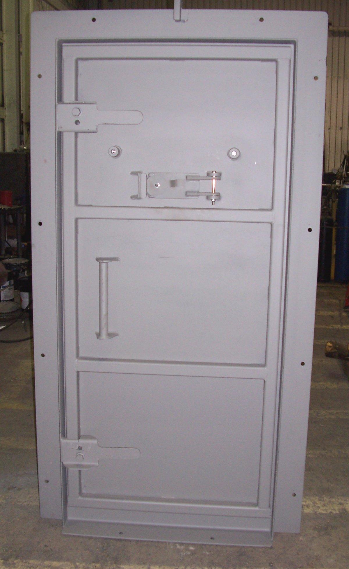Ballistic door - inside & Ballistic doors for hardened shelters pezcame.com