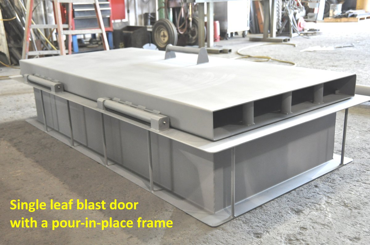 Pour In Place Frame