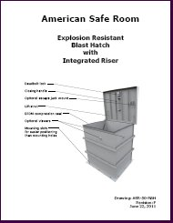 Riser blast hatch manual